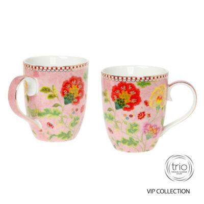 Κούπα Floral Pink Cryspo trio