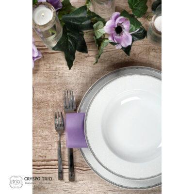Σερβίτσιο Φαγητού Πορσελάνης Dalia