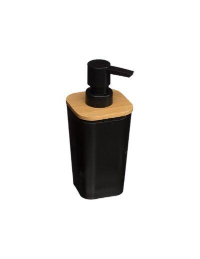 Dispenser μαύρο-μπαμπού 07.140749N