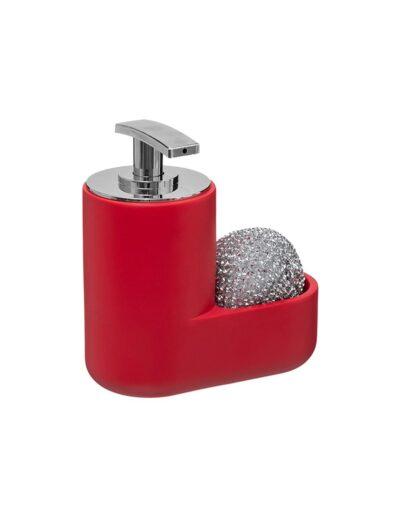 Dispenser με σφουγγάρι κόκκινο 07.167701