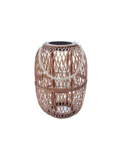 Φανάρι ξύλινο καφέ oval shape 31X48 00.06.61025