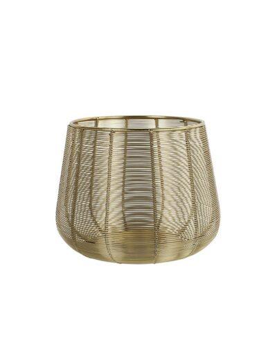 Κηροπήγιο νεταλ.χρυσό χρ.Altona 19X15
