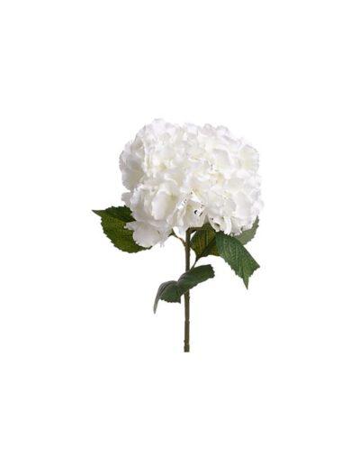 Ορτανσία λευκή κλαδί 83εκ. 07.130813