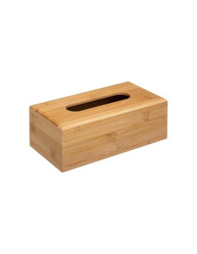 Θήκη για χαρτομάντηλα bamboo 25Χ13Χ8