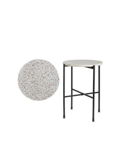 Τραπέζι βοηθ. Λευκό Φ40Χ50 02.1054164