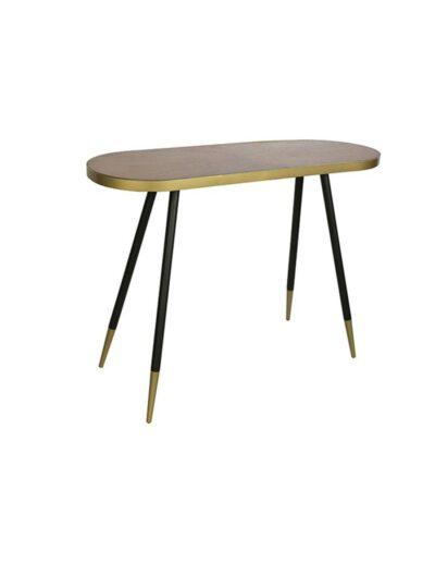 Τραπέζι βοηθ.οβάλ wood look 101Χ36Χ75 013.780896