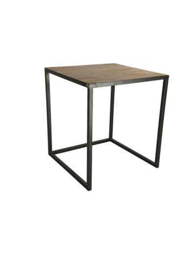 Τραπέζι ξυλ.με μεταλ.πόδια 51Χ51Χ57 013.782169
